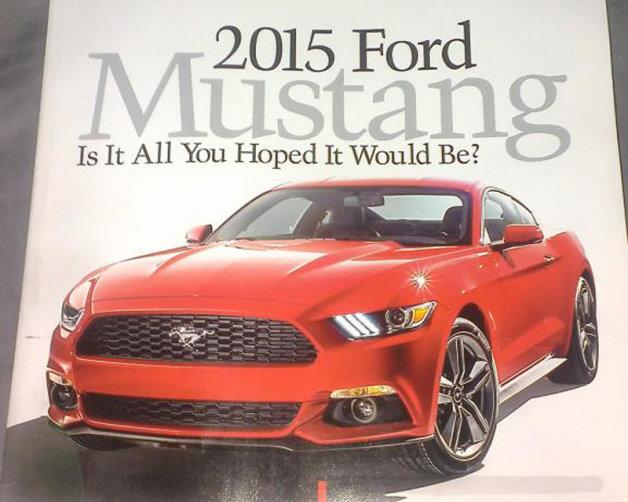 Ford Mustang leaked in Autoweek