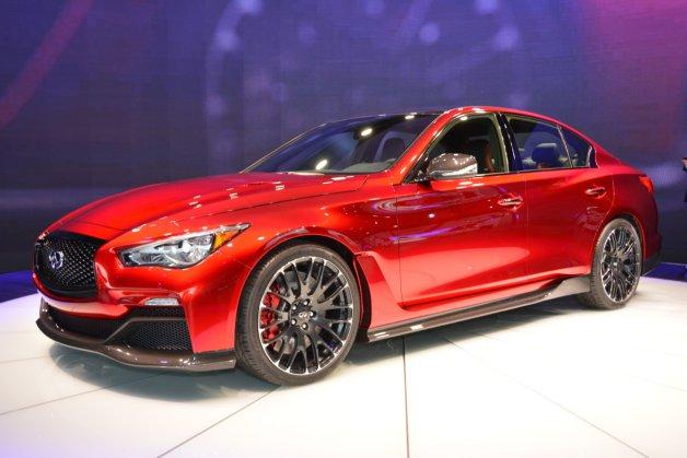 Q50 クーペ >> 北米国際自動車ショー2014 インフィニティ Q50 オールージュ