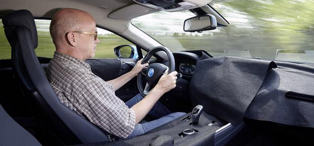 2014 BMW i8 Prototype interior