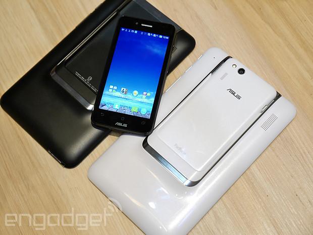 ASUS Padfone mini 4.3 动手玩,轻巧平价的变形装置(视频)