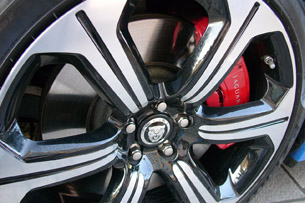 2013 Jaguar XFR-S wheels