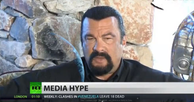Steven Seagal Ukraine