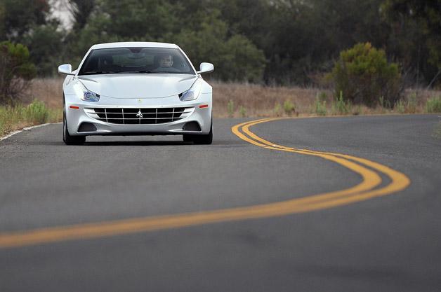 2013 Ferrari FF driving