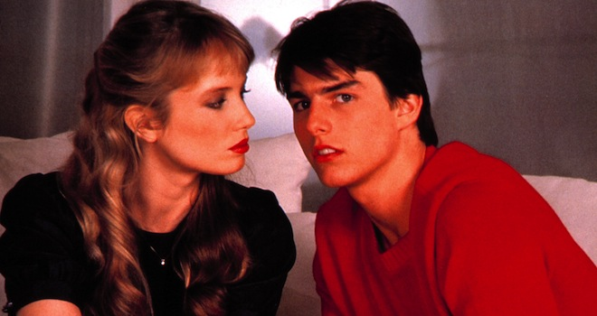 RISKY BUSINESS, Rebecca De Mornay, Tom Cruise, 1983. © Warner Brothers/courtesy Everett Collection