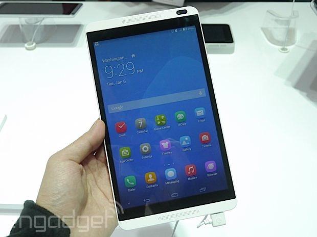 华为 MediaPad M1 中文动手玩,8 吋的中阶娱乐向平板(视频)