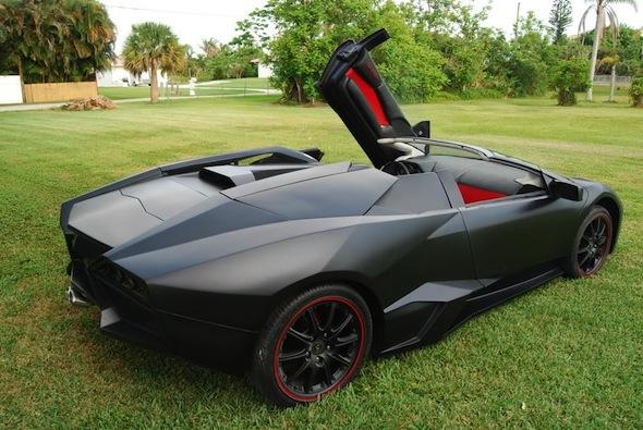 Enthusiast Creates Convincing Lamborghini Reventon Replica Aol