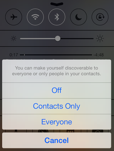 Dialog Iphone