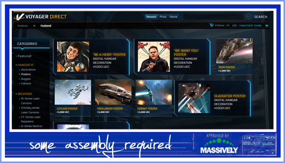 Star Citizen's cash shop