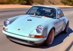 Porsche 911 by Singer with Jay Leno