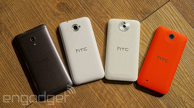 HTC Desire 系列手機在台齊發:700 dual sim、601 dual sim、501 與 300 動手玩(影片)