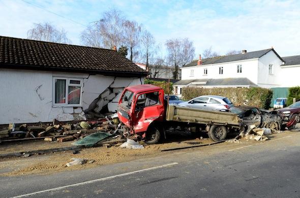 Tesco lorry crash2
