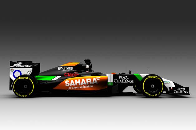 フォース・インディアが2014年シーズンの新型F1マシンを発表