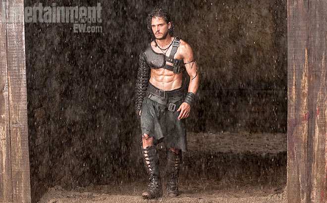Kit Harington in 'Pompeii'