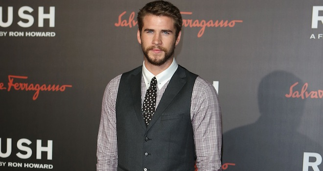 liam hemsworth rush premiere