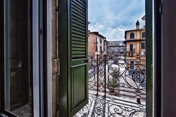 hotel review of Palazzo Victoria in Verona, Italy