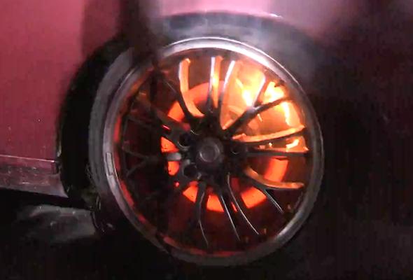 Burning brakes
