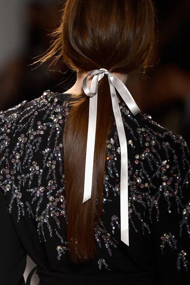 glossy-hair-fashion-week