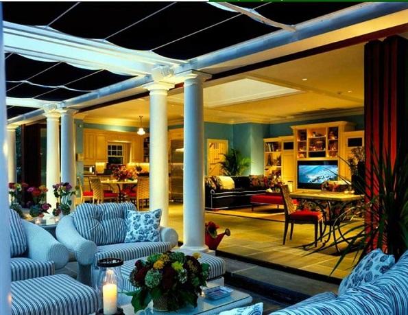 ShadeTree Retractable Roof Pergola Canopy