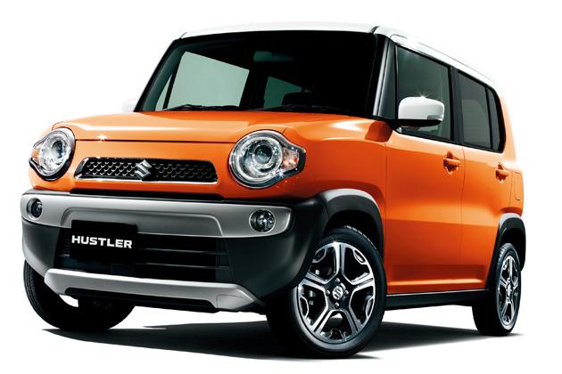 スズキ、軽ワゴンとSUVを融合させた新型軽乗用車「ハスラー」を発表!
