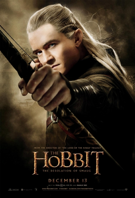 new 'the hobbit: the desolation of smaug' character posters