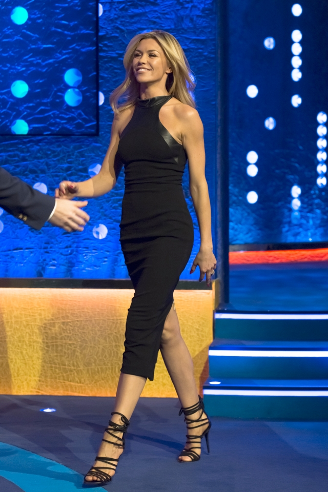 Abbey Clancy Is Stunning In Lbd On Jonathan Ross And Clears Up