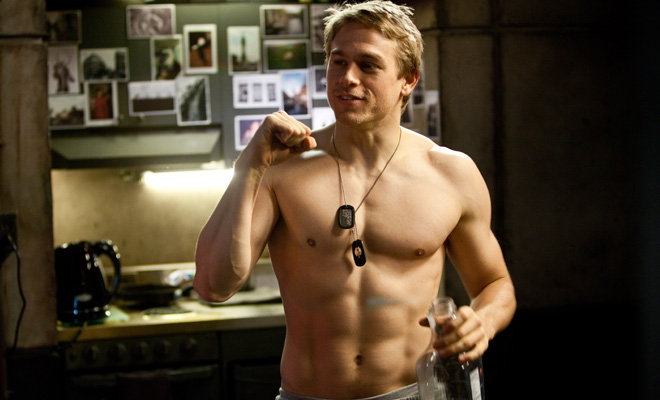 Charlie Hunnam in 'Pacific Rim'
