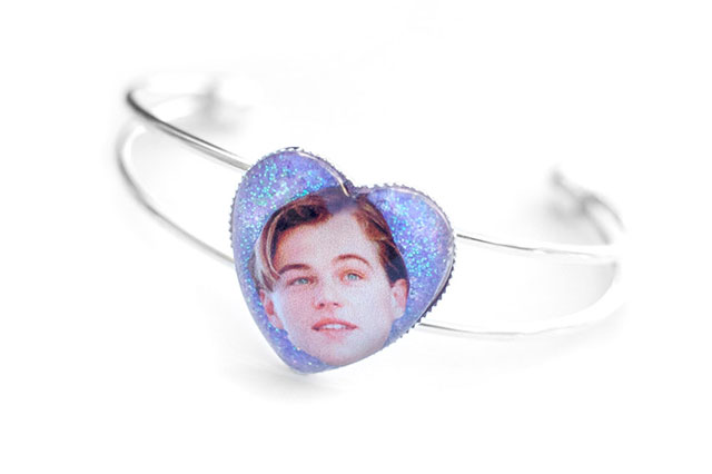 Leonardo DiCaprio Cuff Bracelet by SPACETRASH