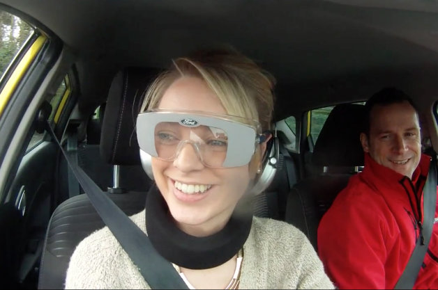 【ビデオ】飲酒運転を疑似体験してみる!