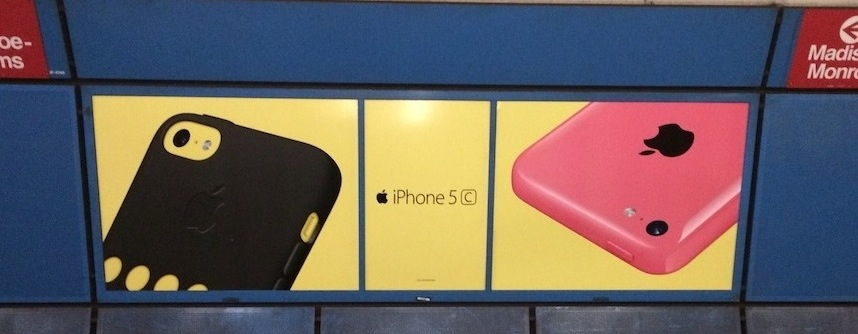 iphone 5c billboard