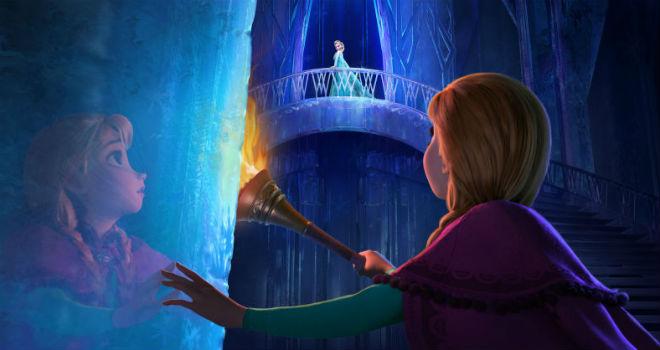 frozen sing-along theater