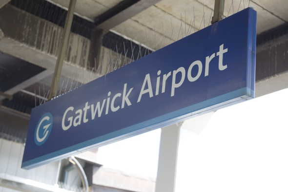 Man killed by train at Gatwick Airport station