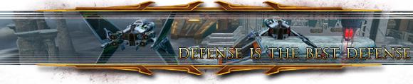 Defense is the best defense