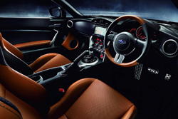 Subaru BRZ Premium Sports Edition - JDM - interior