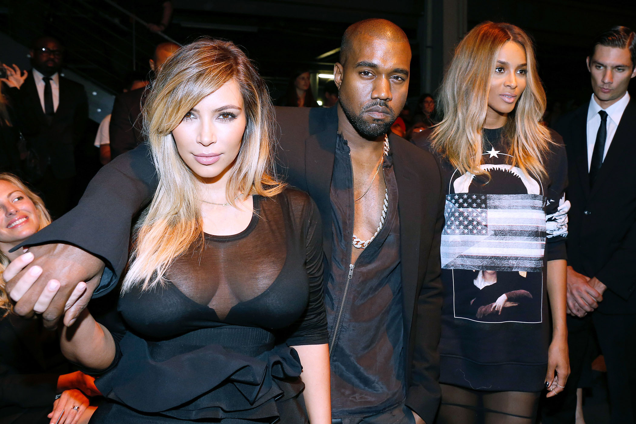 Kim Kardashian and Kanye West's surprising ensembles in Paris