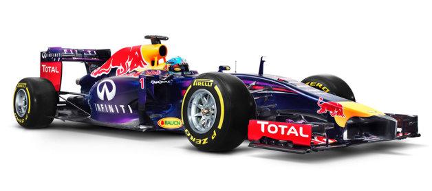 レッドブルが新型F1マシン「RB10」を合同テストで発表