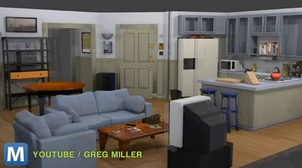 virtual seinfeld apartment for oculus rift