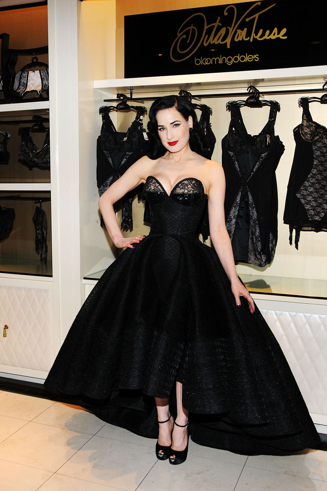 366a748f880 Dita Von Teese Launches The Collection In A