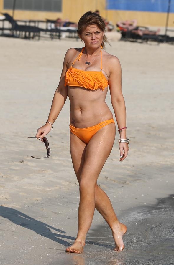 Danniella Westbrook enjoys beach holiday in Dubai (photos) - AOL UK Travel