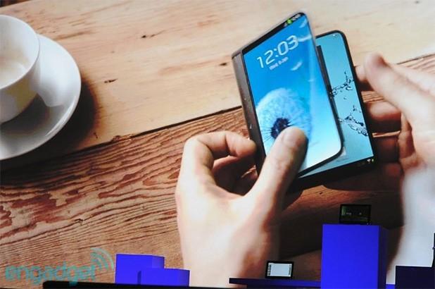 Samsung 承諾將在 2015 年推出使用「摺疊螢幕」的裝置(影片)