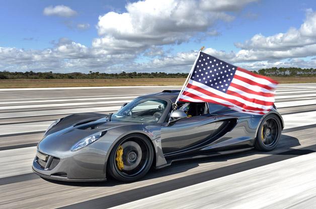 【ビデオ】ヘネシー「ヴェノムGT」が世界最速の270.49 mph(約435.31km/h)を達成!