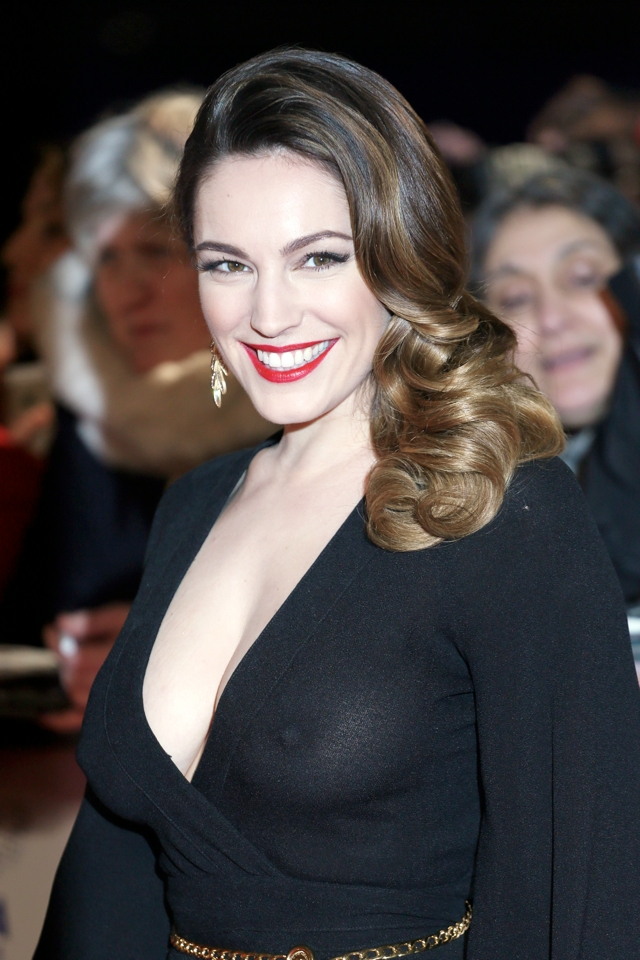 Kelly Brook Makes Style 'Boob' In See-Through Dress At National Television