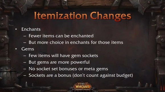 Blizzcon item changes