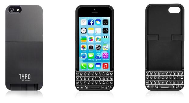 想同时得到 iPhone 和 BlackBerry 实体键盘的体验?可考虑这个 Typo Keyboard(视频)