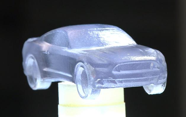 【ビデオ】これならもっとうれしかった! 3Dプリンタで作ったチョコの「マスタング」
