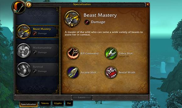 Beast mastery spec