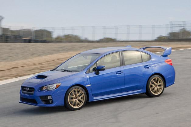 2015 Subaru WRX STI  Autoblog