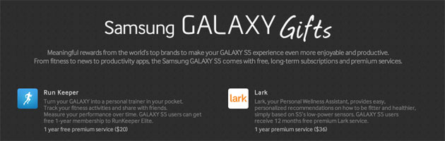 Samsung Galaxy Gifts
