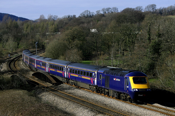 File photo dated 21/03/07 of a First Great Western train as passengers have been promised improvements on the Great Western main line after First Great Western was given a 23-month extension to its franchise.