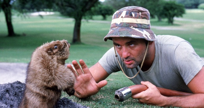 CADDYSHACK, Bill Murray, 1980. (c) Warner Bros./ Courtesy: Everett Collection.