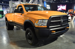 Ram Dually Work Truck at SEMA